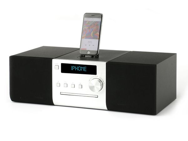 iphone ipod soundsystem mit cd player radio usb und. Black Bedroom Furniture Sets. Home Design Ideas