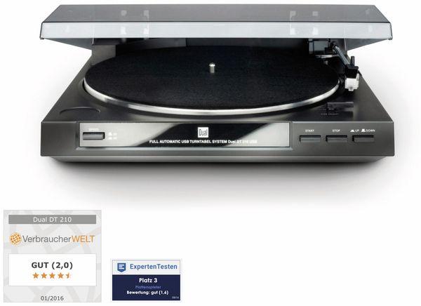 Schallplattenspieler DUAL DT 210, USB - Produktbild 1