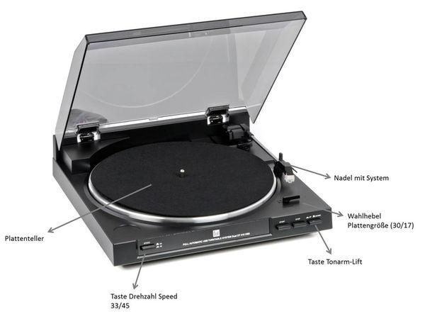 Schallplattenspieler DUAL DT 210, USB - Produktbild 2