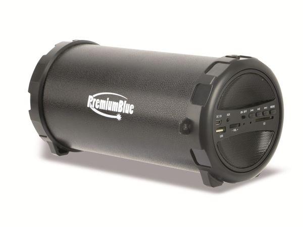 Aktiv-Lautsprecher PREMIUMBLUE PAL11, Bluetooth, USB, SD, Radio - Produktbild 1