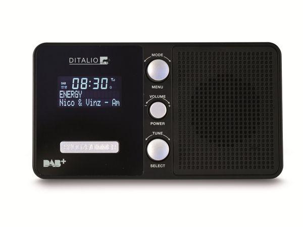DAB+/UKW Uhrenradio TECHNISAT Ditalio CR 1, schwarz - Produktbild 1