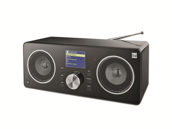 UKW/DAB+/WLAN Radio mit Spotify Connect-Funktion DUAL RADIO STATION IR 8 S
