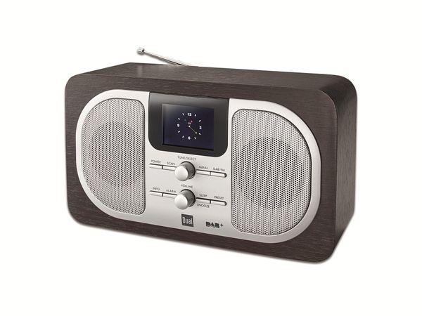 DAB+/UKW Radio mit Farbdisplay DUAL DAB 100 - Produktbild 1