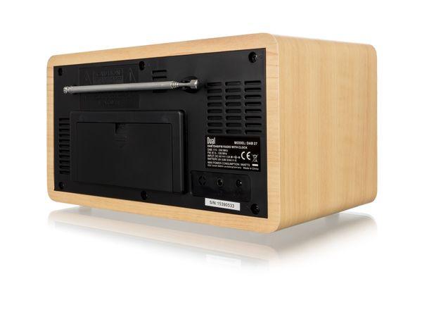 Stereo DAB+/UKW Digitalradio DUAL DAB 27 - Produktbild 3