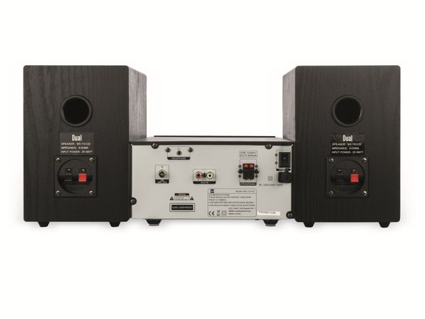 Micro System mit Radio, CD und USB DUAL MS 110 CD - Produktbild 4