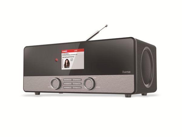 "Internetradio Hama ""DIR3100"", DAB+, schwarz - Produktbild 1"