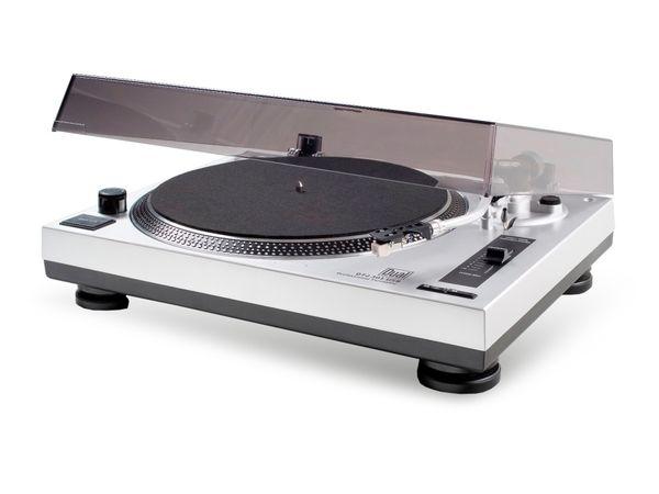 Schallplattenspieler DUAL DTJ 301, USB, silber - Produktbild 1