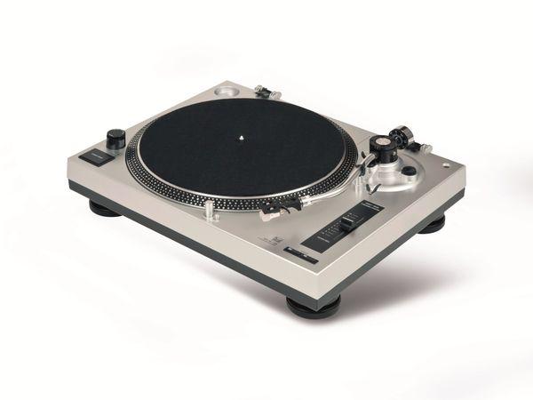 Schallplattenspieler DUAL DTJ 301, USB, silber - Produktbild 4