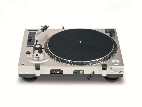 Schallplattenspieler DUAL DTJ 301, USB, silber - Produktbild 5