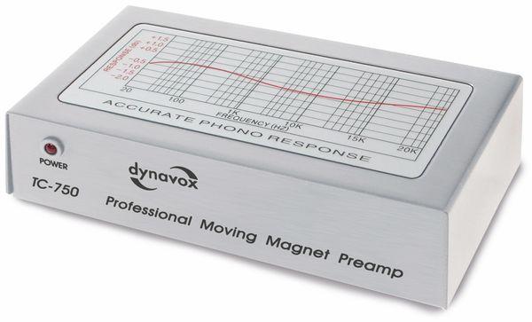 Phono-Vorverstärker DYNAVOX TC-750 silber