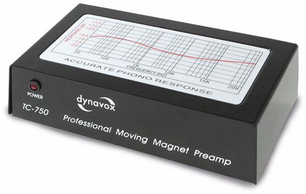 Phono-Vorverstärker DYNAVOX TC-750 schwarz - Produktbild 1