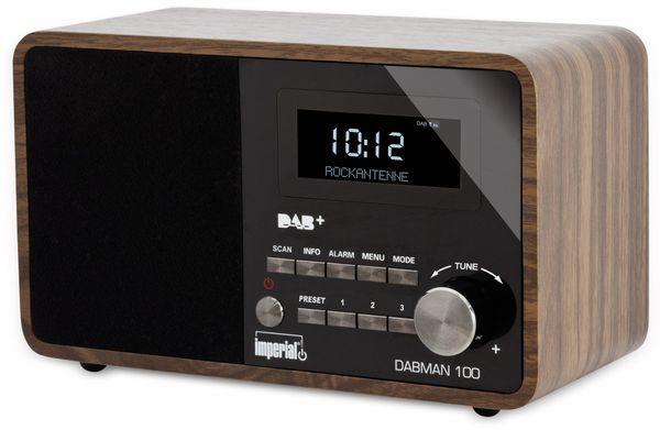 DAB Radio IMPERIAL DABMAN 100, Holzoptik - Produktbild 3