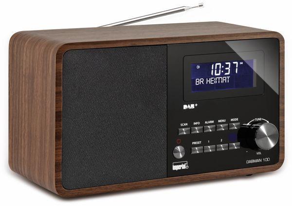 DAB Radio IMPERIAL DABMAN 100, Holzoptik - Produktbild 4