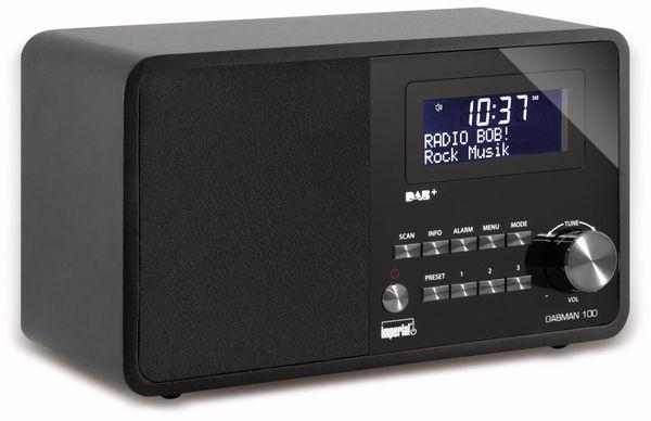 DAB Radio IMPERIAL DABMAN 100, schwarz - Produktbild 1
