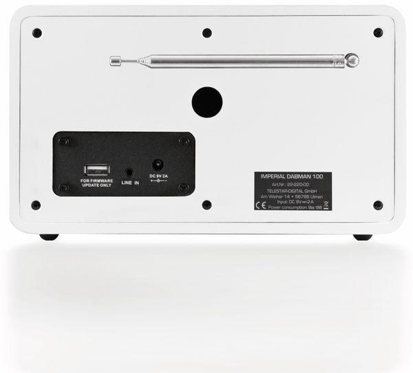 DAB Radio IMPERIAL DABMAN 100, weiß - Produktbild 2