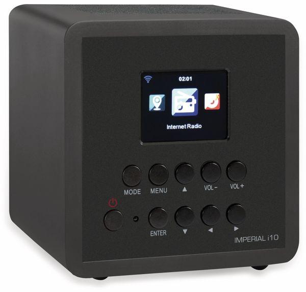 Webradio IMPERIAL i10, schwarz - Produktbild 1