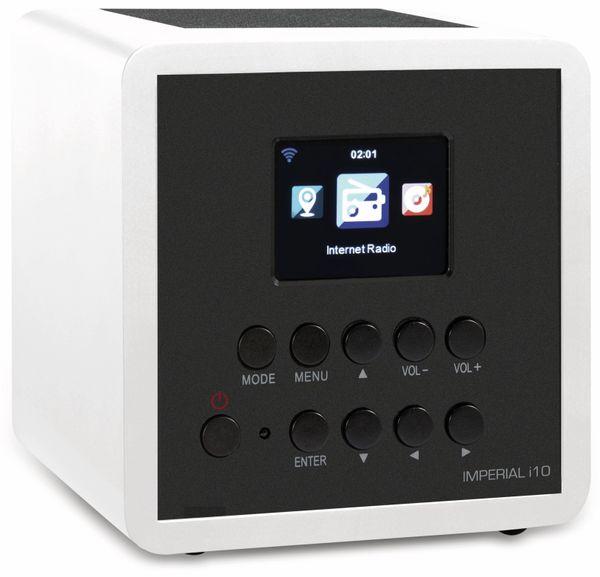 Webradio IMPERIAL i10, weiß - Produktbild 1