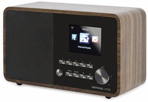 Internetradio IMPERIAL i110, Holzoptik - Produktbild 1
