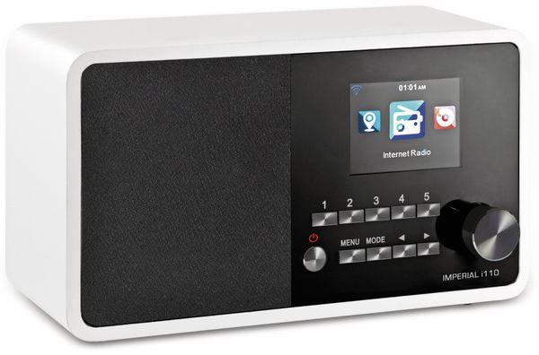 Internetradio IMPERIAL i110, weiß - Produktbild 2