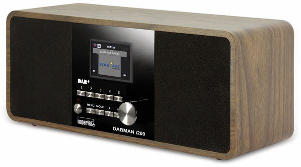 Internetradio IMPERIAL Dabman i200, Holzoptik - Produktbild 1