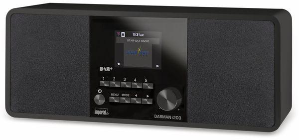 Internetradio IMPERIAL Dabman i200, schwarz - Produktbild 1