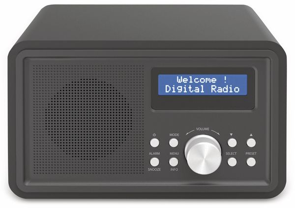 DAB+/FM Digitalradio DENVER DAB-35, schwarz