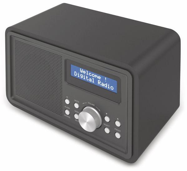 DAB+/FM Digitalradio DENVER DAB-35, schwarz - Produktbild 2
