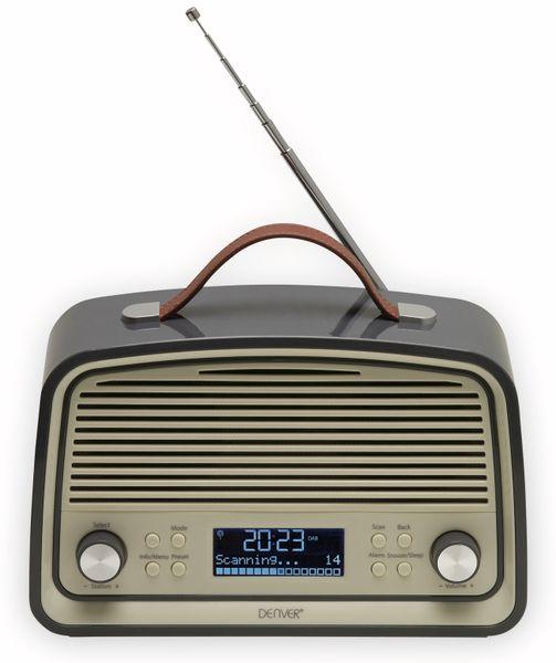 DAB Radio DENVER DAB-38GREY - Produktbild 1