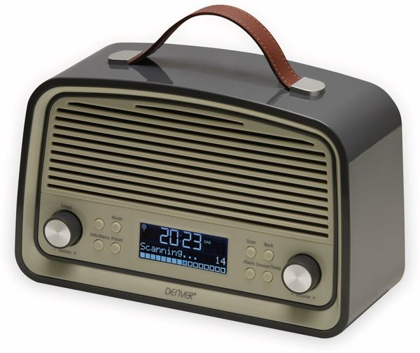 DAB Radio DENVER DAB-38GREY - Produktbild 2