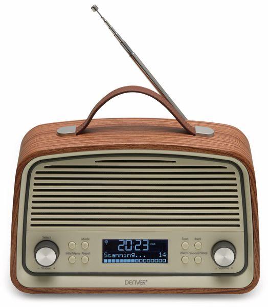 DAB Radio DENVER DAB-38DARKWOOD - Produktbild 1