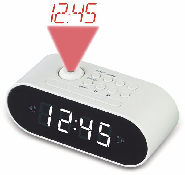 Uhrenradio DENVER CRP-717WHITE