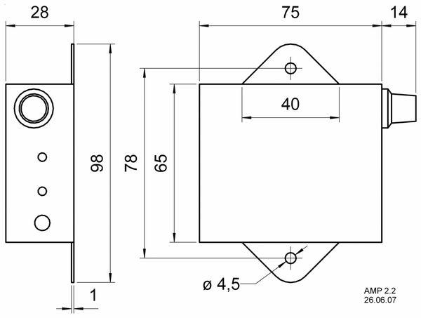 Stereo-Verstärker VISATON AMP 2.2 - Produktbild 2