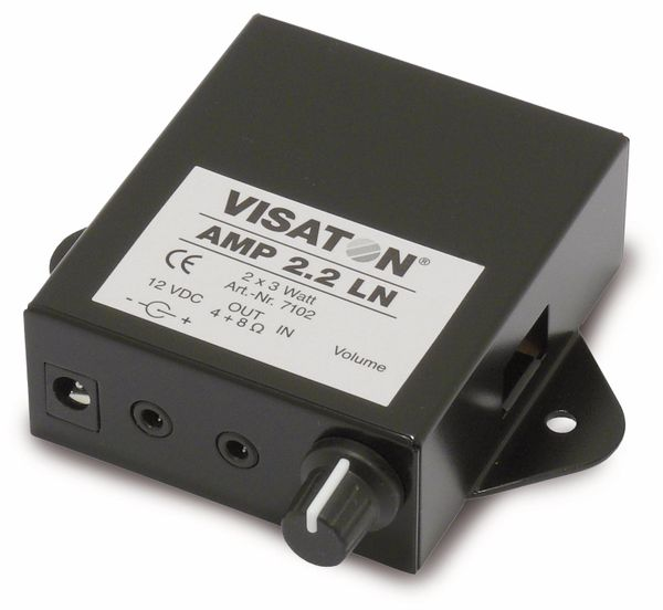 Stereo-Verstärker VISATON AMP 2.2 LN