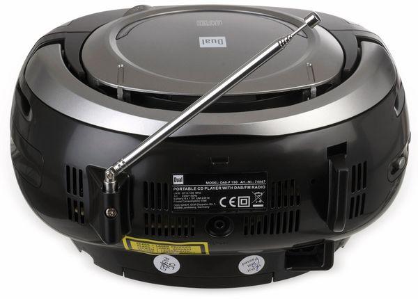 CD-Player DUAL DAB-P 150, schwarz - Produktbild 4
