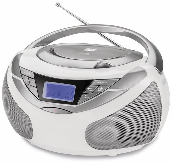CD-Player DUAL DAB-P 150, weiß