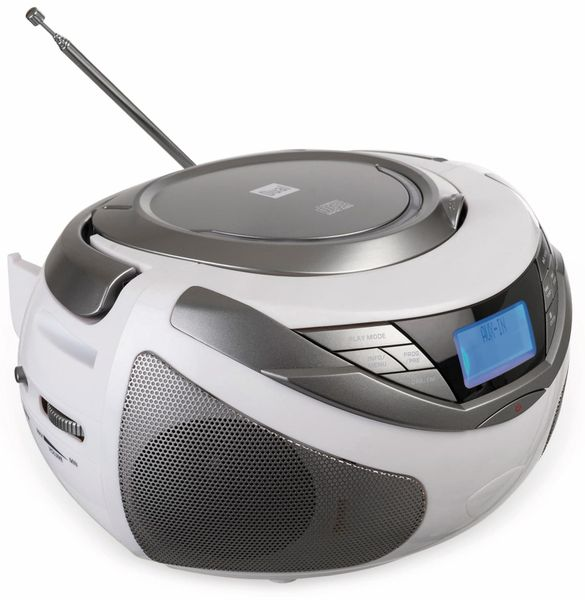 CD-Player DUAL DAB-P 150, weiß - Produktbild 2