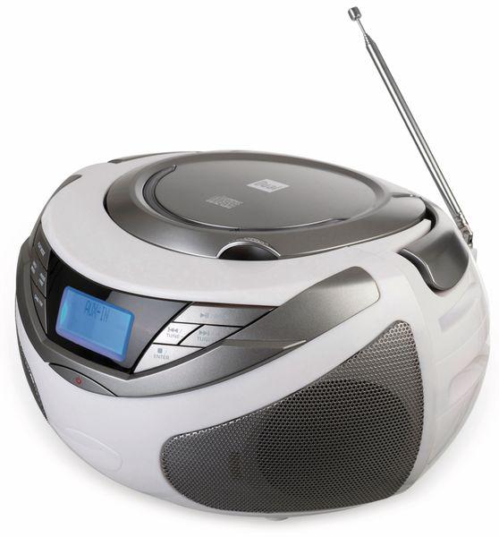 CD-Player DUAL DAB-P 150, weiß - Produktbild 3