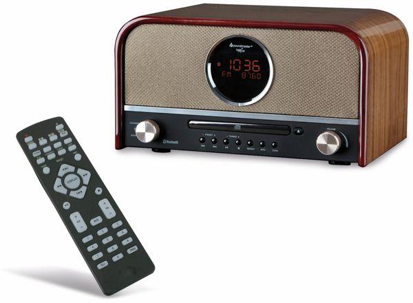 DAB Radio SOUNDMASTER NR850, Holzoptik - Produktbild 1