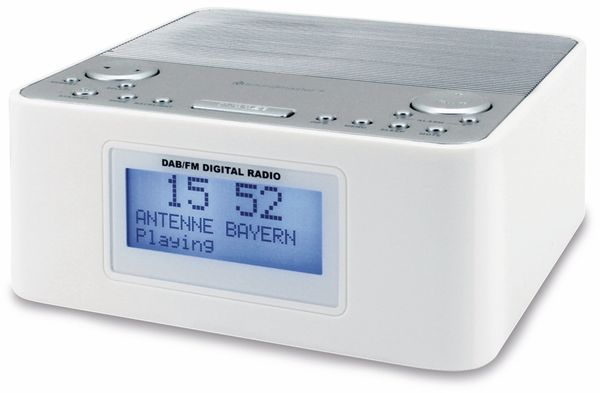 DAB Radio SOUNDMASTER UR170WE, weiß