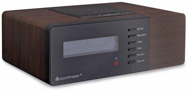 DAB Radio SOUNDMASTER UR180DBR, dunkelbraun - Produktbild 1