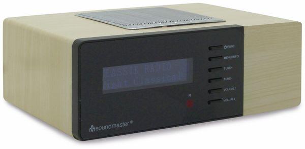 DAB Radio SOUNDMASTER UR180HBR, hellbraun - Produktbild 2