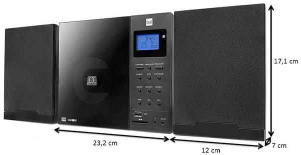 Stereoanlage DUAL Vertical DAB 102 - Produktbild 4