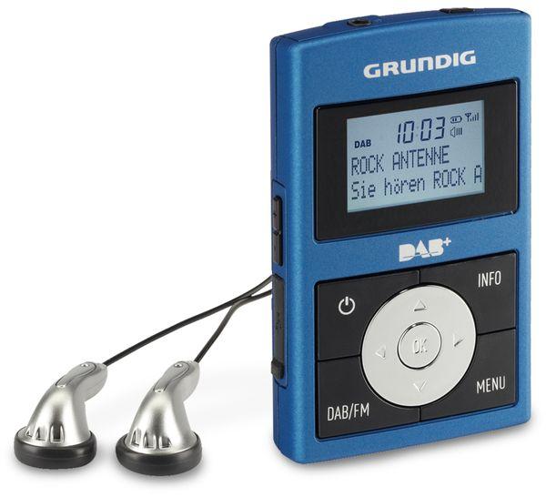 DAB Radio GRUNDIG Micro 75 DAB+ Metallic Blue/Grey - Produktbild 1