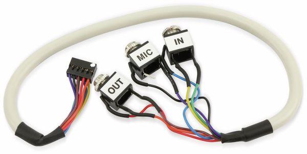 Audio-Kabel 3200-072100-RS, Pin Header auf Klinke, 30 cm