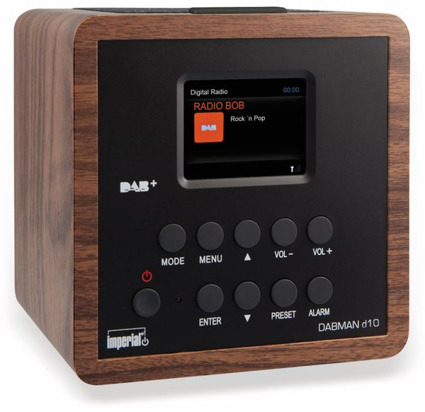 DAB Radio IMPERIAL Dabman d10, Holzoptik - Produktbild 1