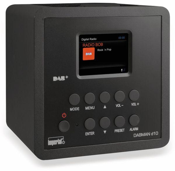 DAB Radio IMPERIAL Dabman d10, schwarz - Produktbild 1
