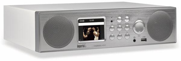 Webradio IMPERIAL Dabman i450, silber/weiß, WLAN, Bluetooth, DAB+