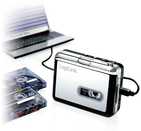 USB-Kassettendeck LOGILINK UA0156 - Produktbild 2