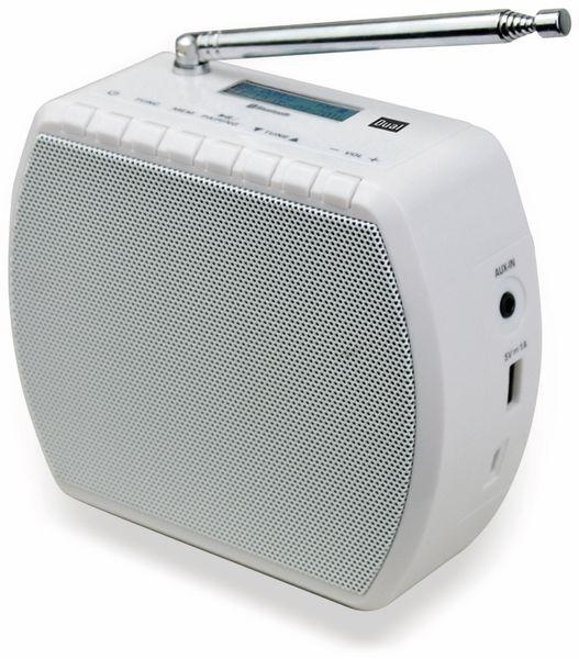 Steckdosenradio DUAL STR 101, weiß - Produktbild 1