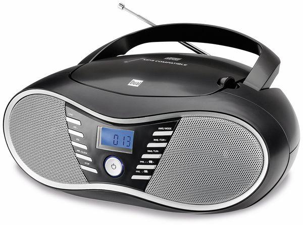 CD-Player DUAL P 60 BT, schwarz